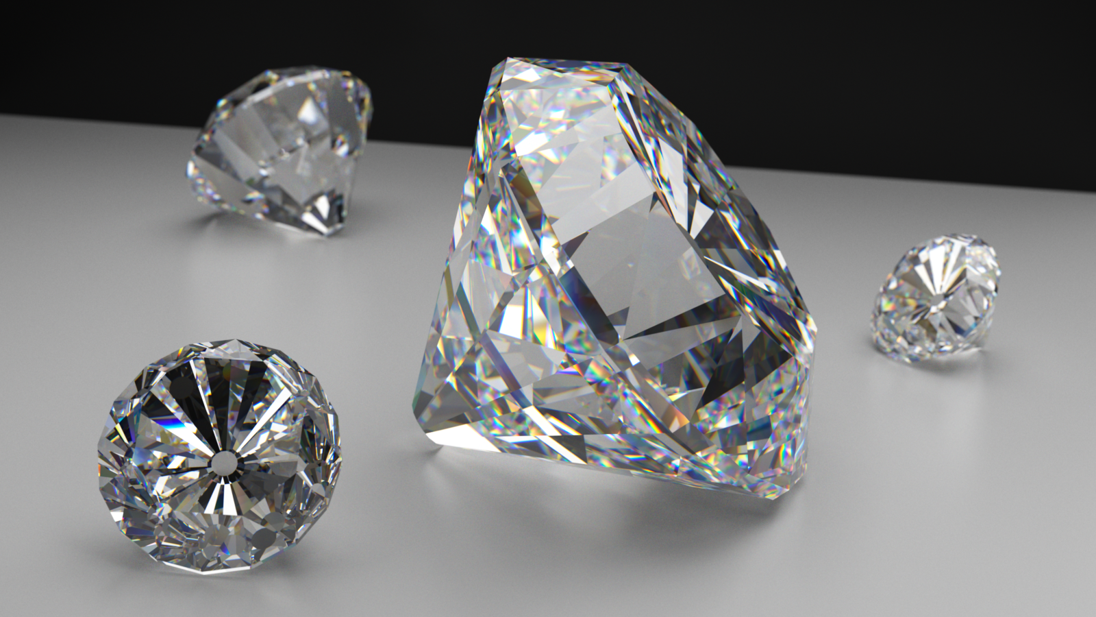 Diamonds With Dispersion